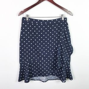 Banana Republic Peplum Ruffled Skirt Size 4 Petite